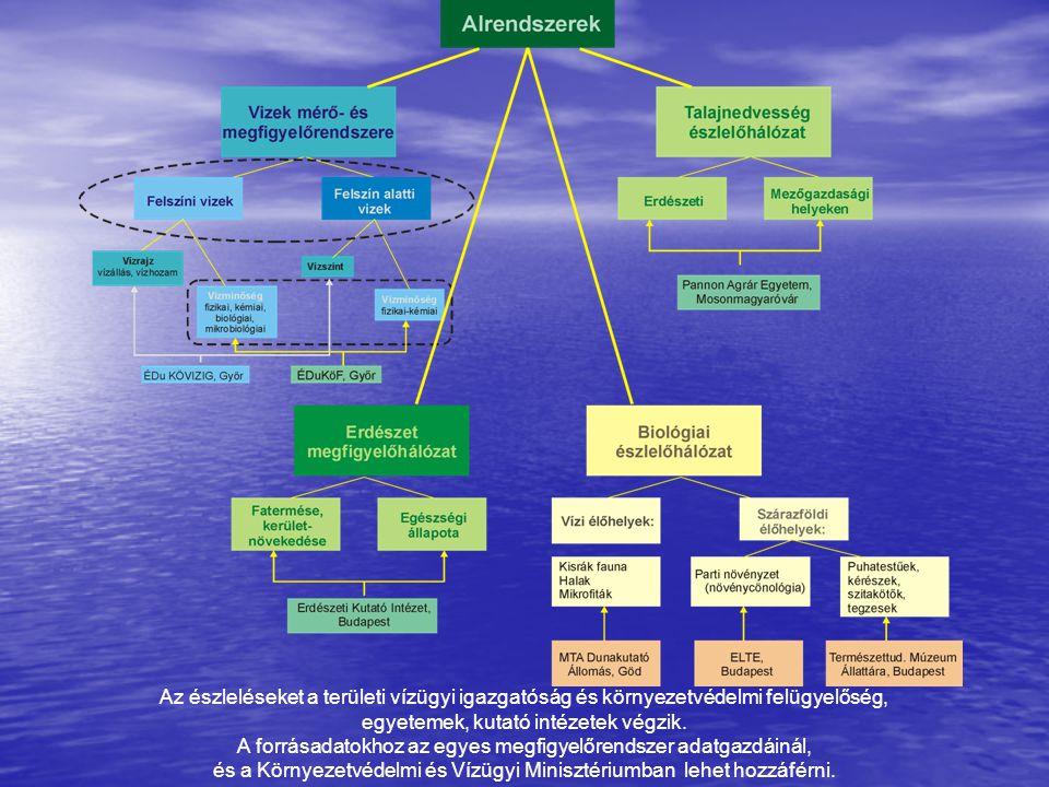 Célkitűzés A Vízerőmű hatásterületén a környezeti elemek állapotváltozásának megfigyelése A Vízerőmű hatásterületén a környezeti elemek állapotváltozásának megfigyelése Egyes műszaki beavatkozások hatásának nyomon követése Egyes műszaki beavatkozások hatásának nyomon követése Hatáselemzésekhez, tervezésekhez adatszolgáltatás (Visszacsatolás) Hatáselemzésekhez, tervezésekhez adatszolgáltatás (Visszacsatolás)