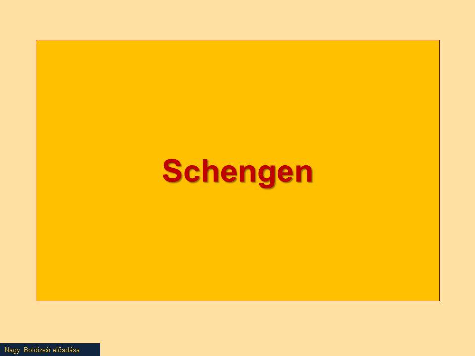 Nagy Boldizsár előadása Schengen