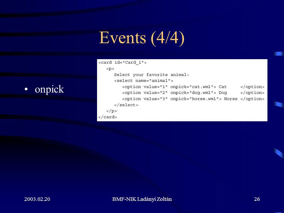 2003.02.20BMF-NIK Ladányi Zoltán26 Events (4/4) onpick