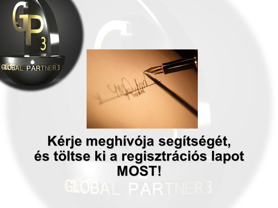 Kérje meghívója segítségét, és töltse ki a regisztrációs lapot MOST!