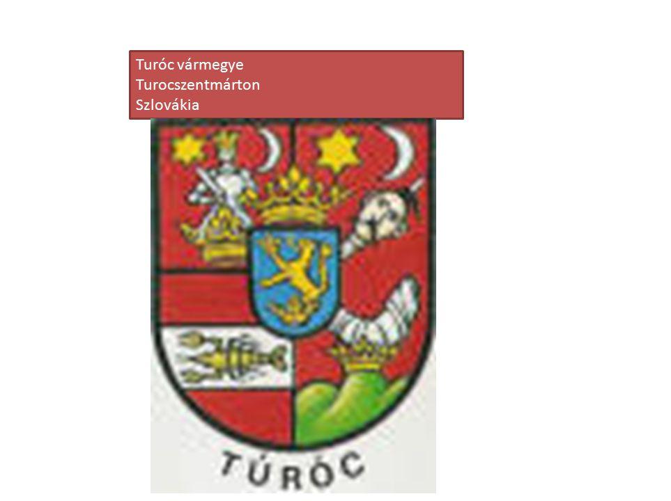 Turóc vármegye Turocszentmárton Szlovákia