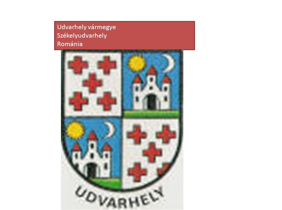 Udvarhely vármegye Székelyudvarhely Románia