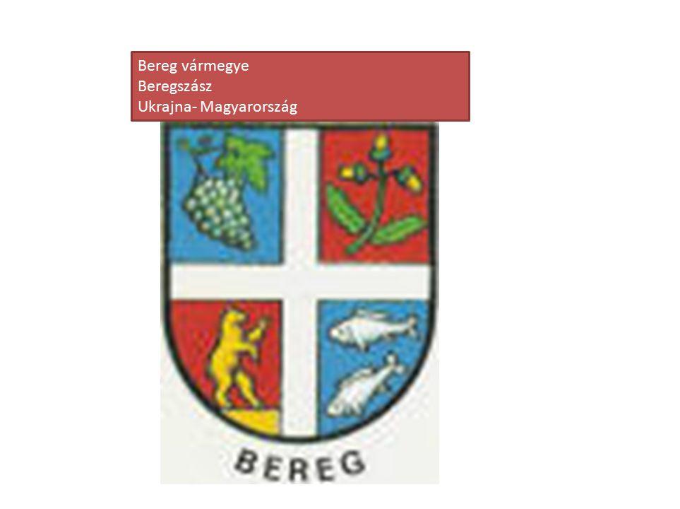 Bereg vármegye Beregszász Ukrajna- Magyarország
