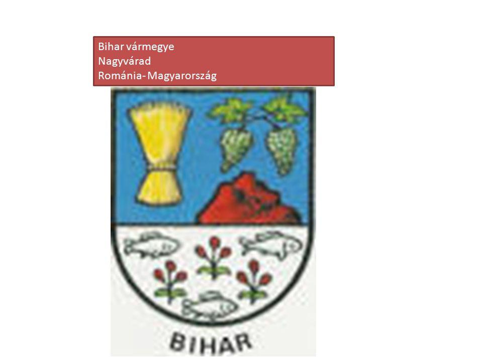 Bihar vármegye Nagyvárad Románia- Magyarország