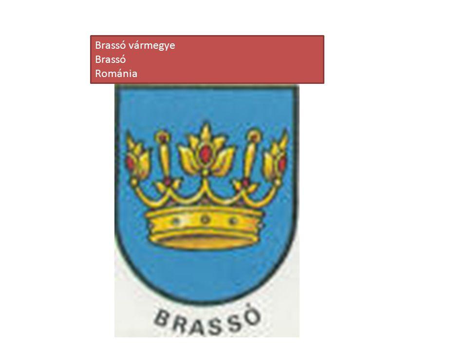 Brassó vármegye Brassó Románia