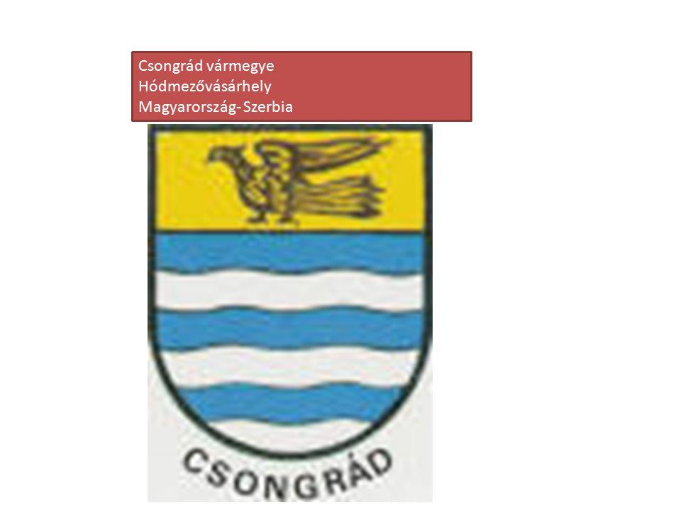 Csongrád vármegye Hódmezővásárhely Magyarország- Szerbia