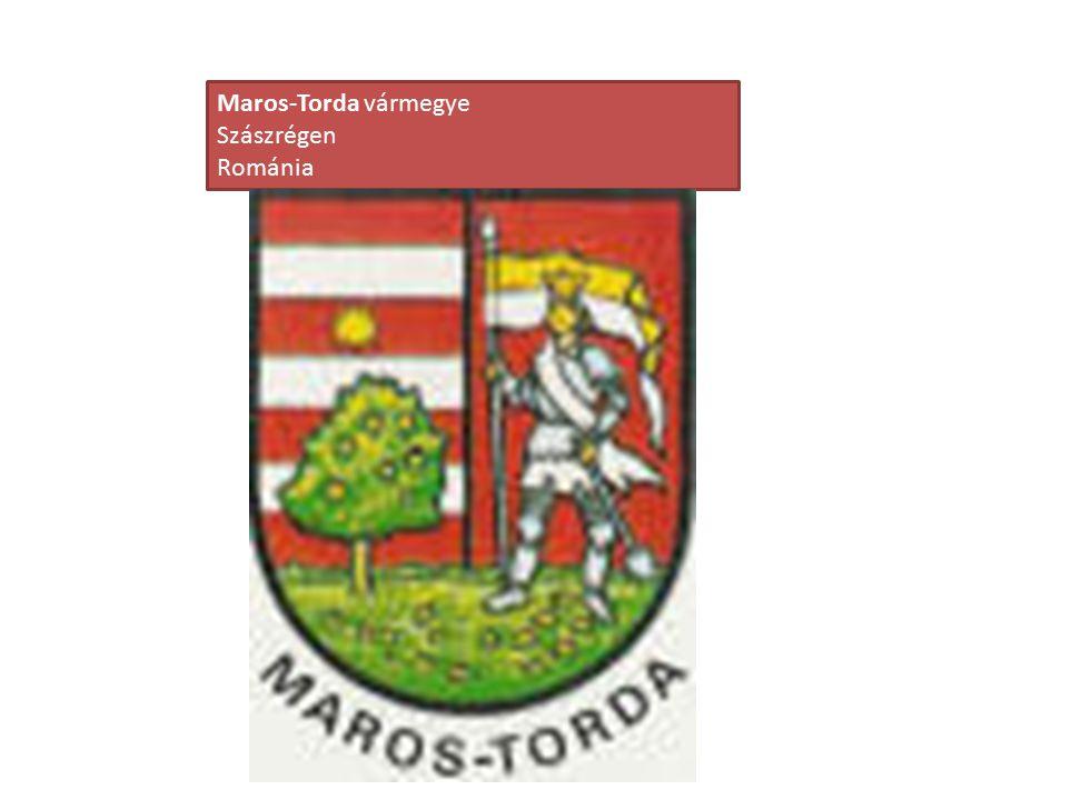 Maros-Torda vármegye Szászrégen Románia