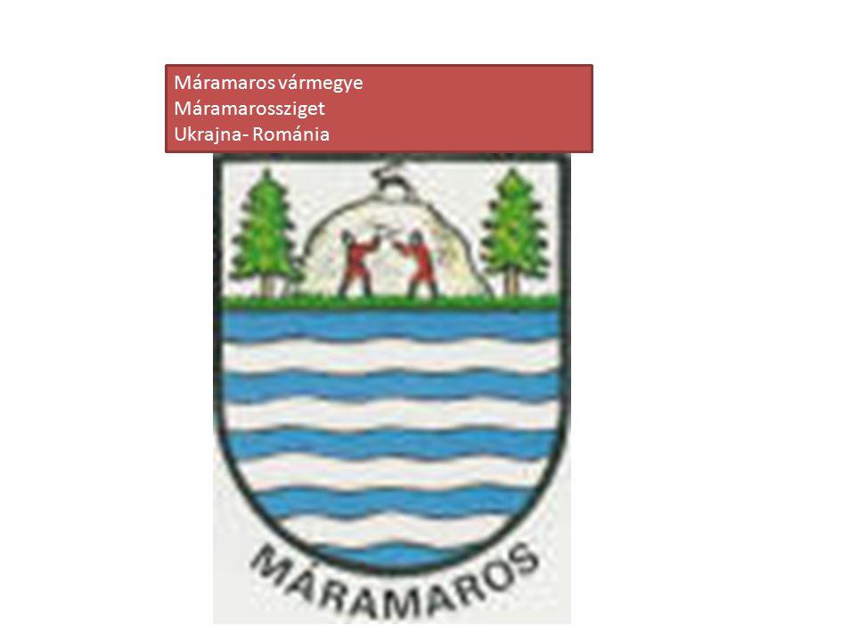 Máramaros vármegye Máramarossziget Ukrajna- Románia