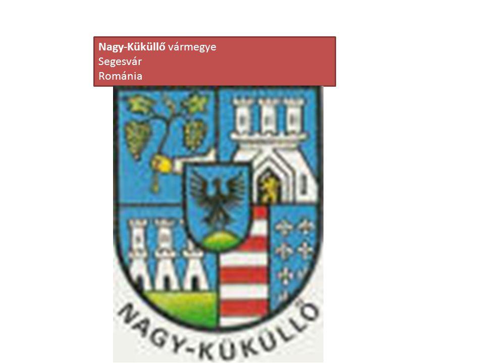 Nagy-Küküllő vármegye Segesvár Románia