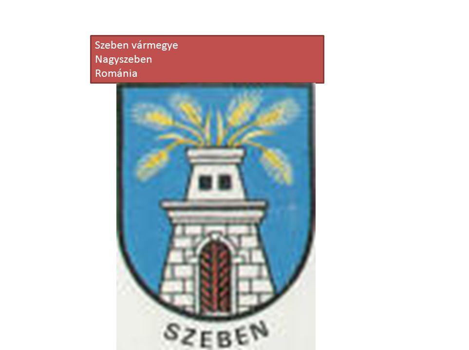 Szeben vármegye Nagyszeben Románia