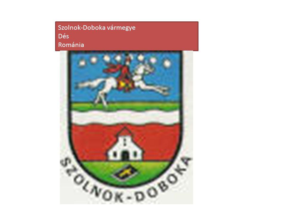 Szolnok-Doboka vármegye Dés Románia