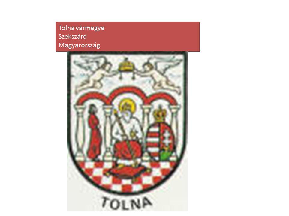 Tolna vármegye Szekszárd Magyarország