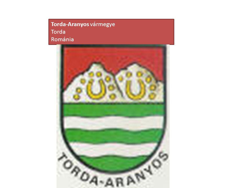 Torda-Aranyos vármegye Torda Románia