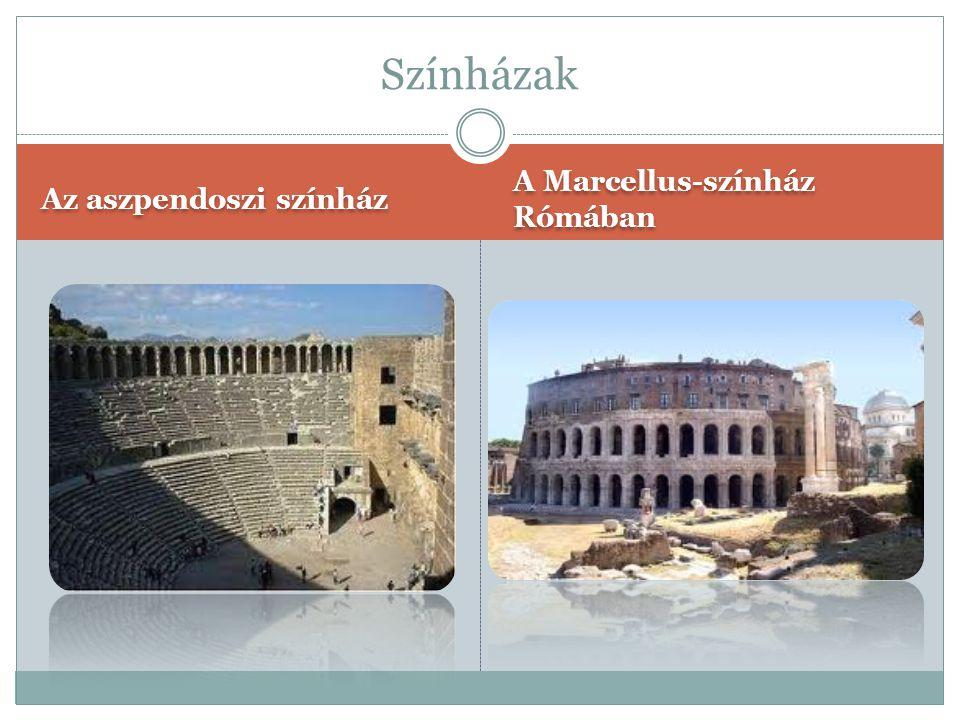 A Palatium A spalatoi Diocletianus- palota Paloták