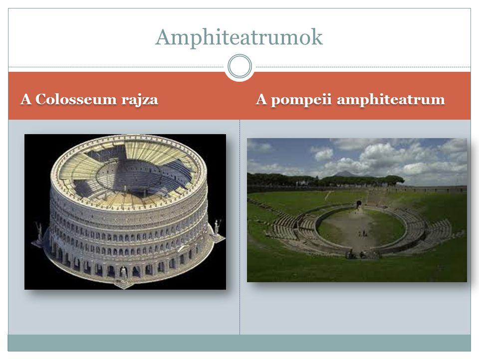 Az aszpendoszi színház A Marcellus-színház Rómában Színházak