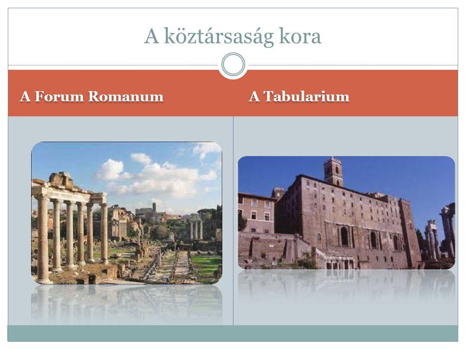 Capitolium Servius Tullius városfala Királyok kora