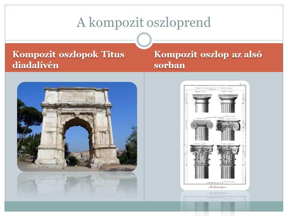 Toszkán oszlopok vázlata Toszkán oszlopok egy bejárat mellett A toszkán oszloprend