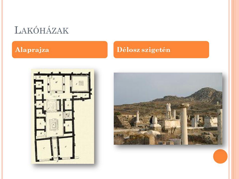 S ZÍNHÁZAK Az athéni Dionüszosz- színház Az epidauroszi színház