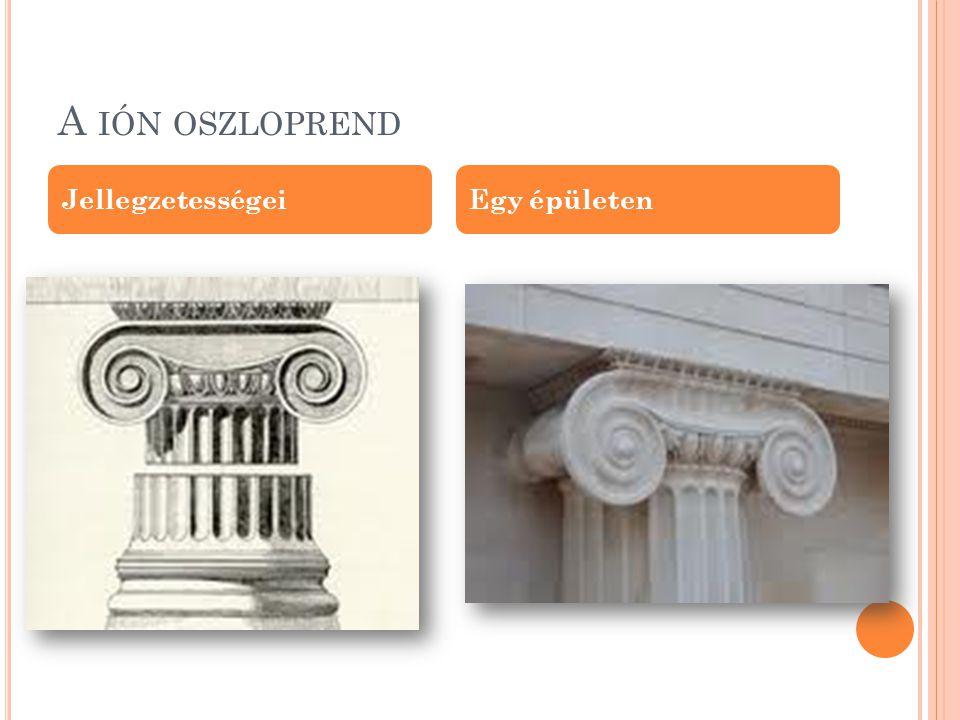 Ő SKOR A thermoni Apollón- templom … Egy másik része