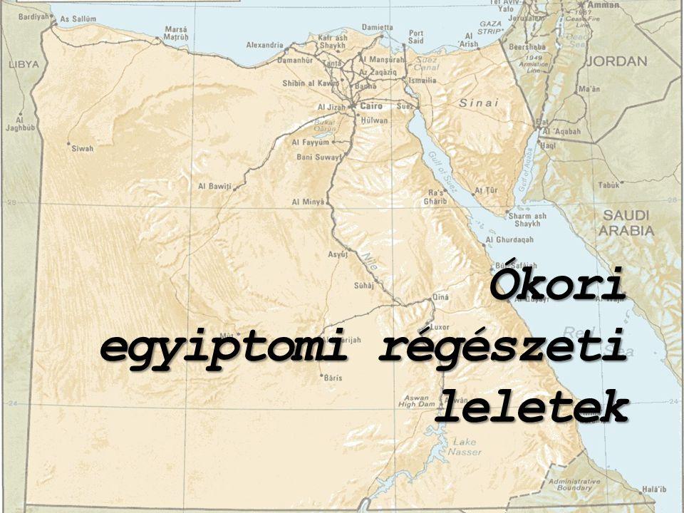 Ókori egyiptomi régészeti leletek