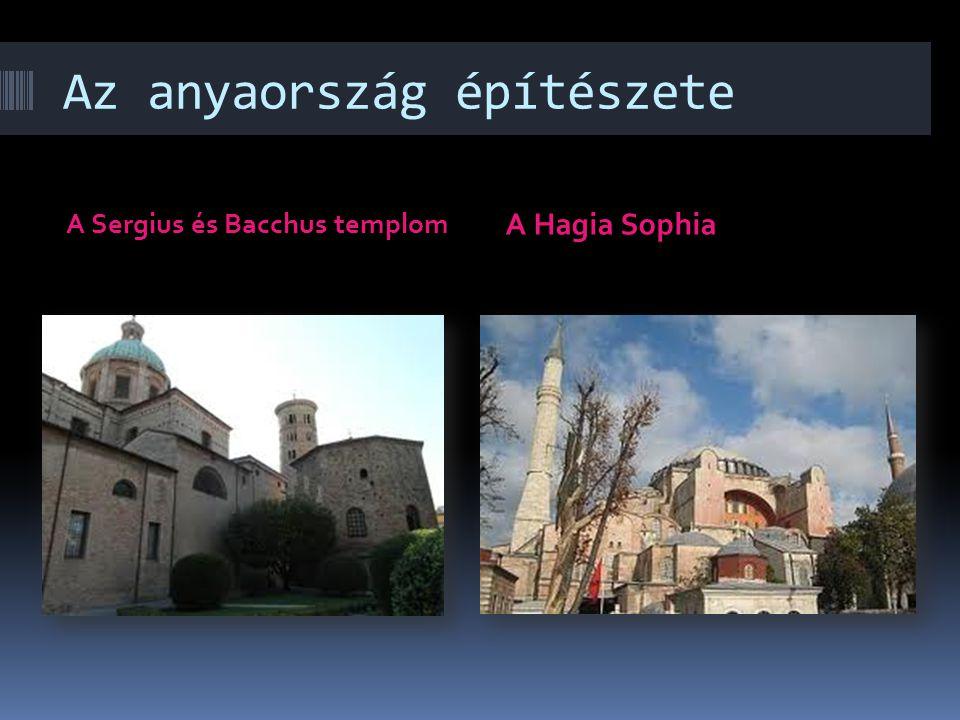 A bizánci építészet tagolása területi alapon Felosztás