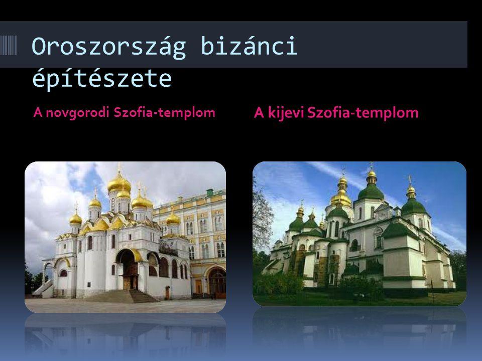 A Balkán-félsziget bizánci hatású építészete Az ohridai Szt. Kliment- templom A bacskovói sírtemplom