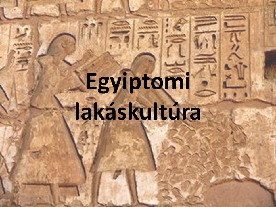 Egyiptomi lakáskultúra