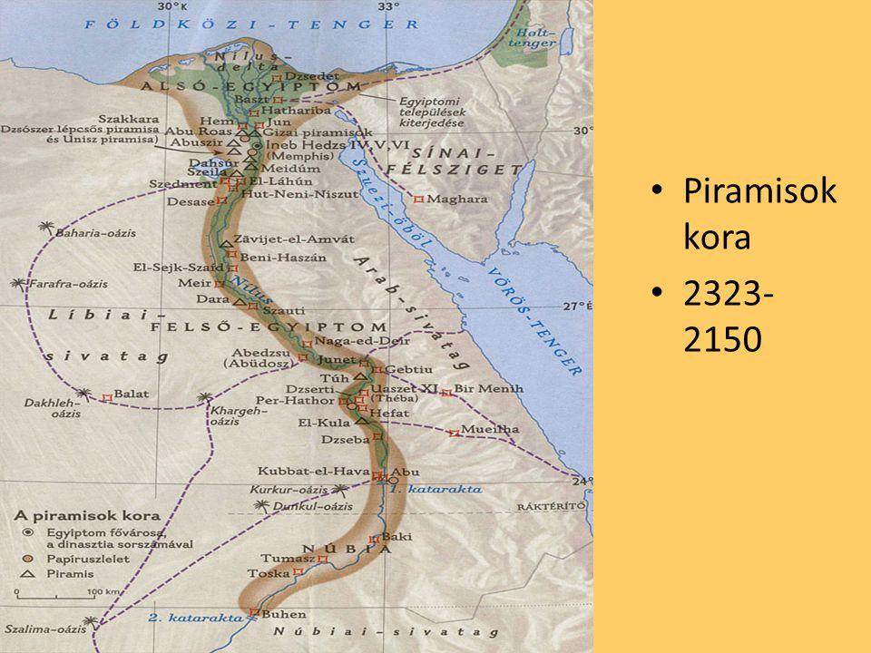 Piramisok kora 2323- 2150