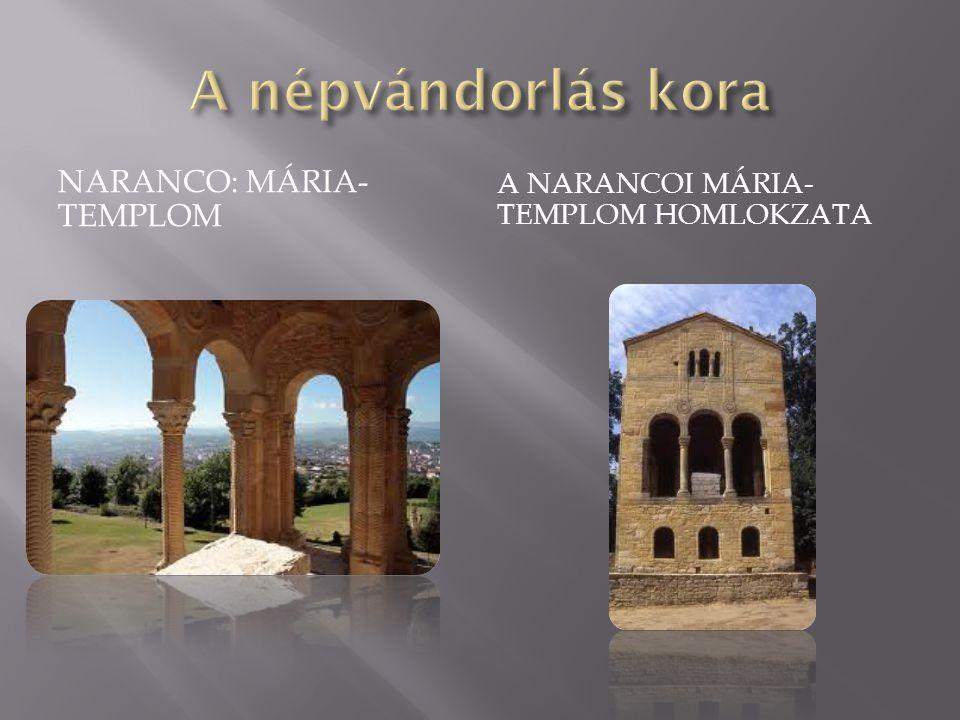 NARANCO: MÁRIA- TEMPLOM A NARANCOI MÁRIA- TEMPLOM HOMLOKZATA