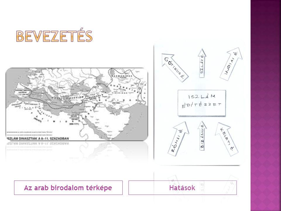 Az arab birodalom térképeHatások