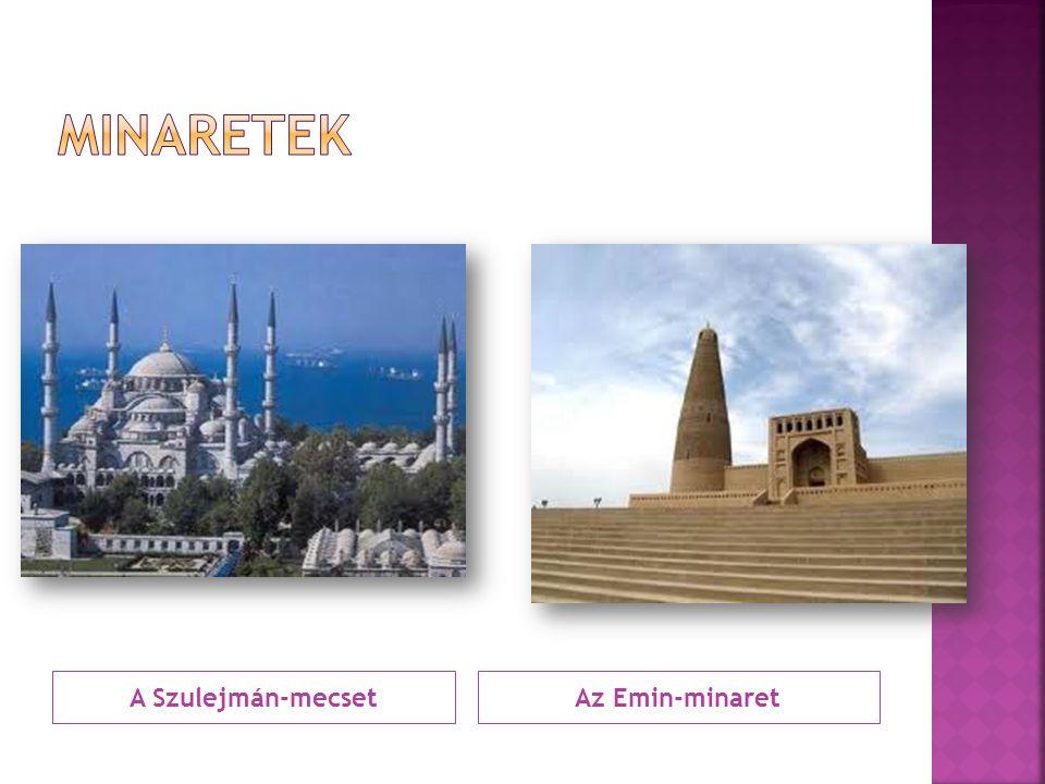 A Szulejmán-mecsetAz Emin-minaret