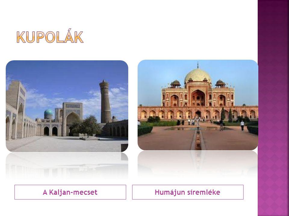 A Kaljan-mecsetHumájun síremléke