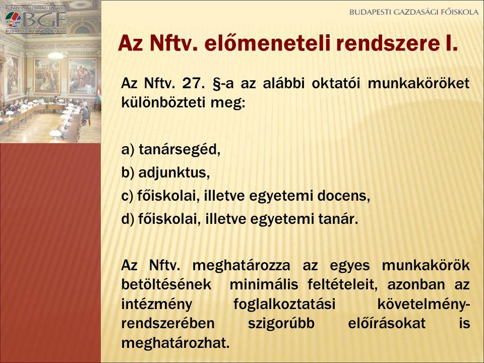 Általános követelmények – Nftv.24.