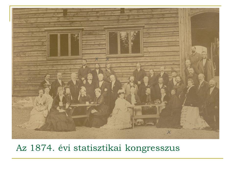 Az 1874. évi statisztikai kongresszus