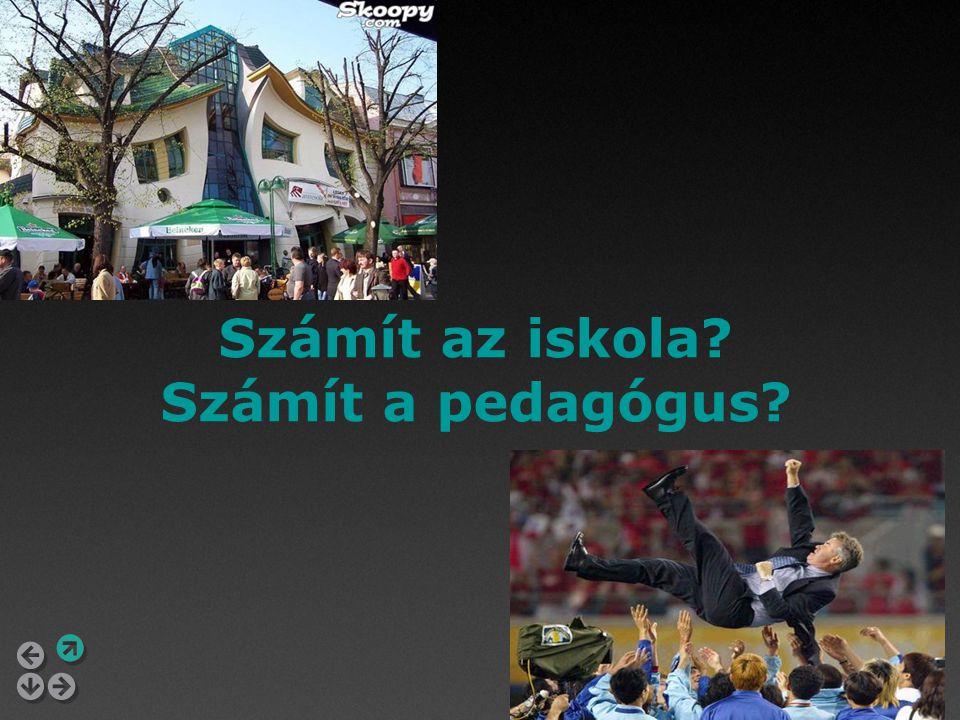 www.fszk.hu/dobbanto Számít az iskola? Számít a pedagógus?