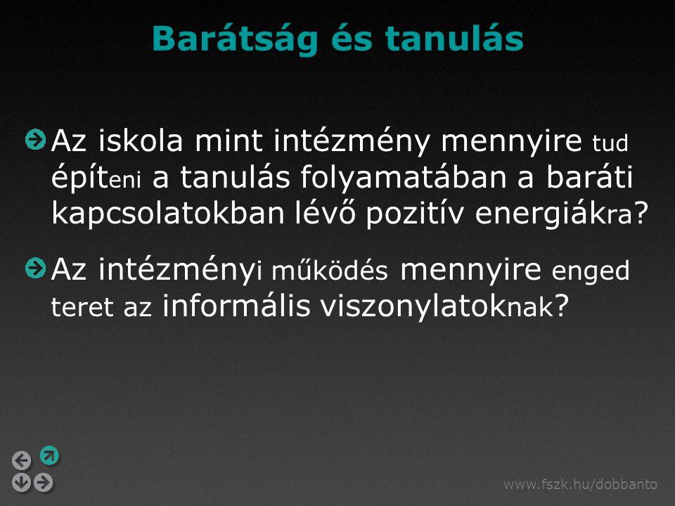 www.fszk.hu/dobbanto Irodalom Szekszárdi J., Buda M., Horváth H.