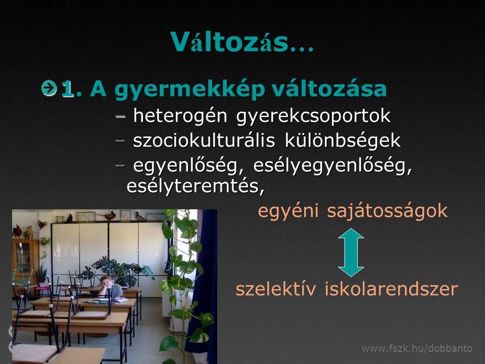 www.fszk.hu/dobbanto V á ltoz á s … 1 1.