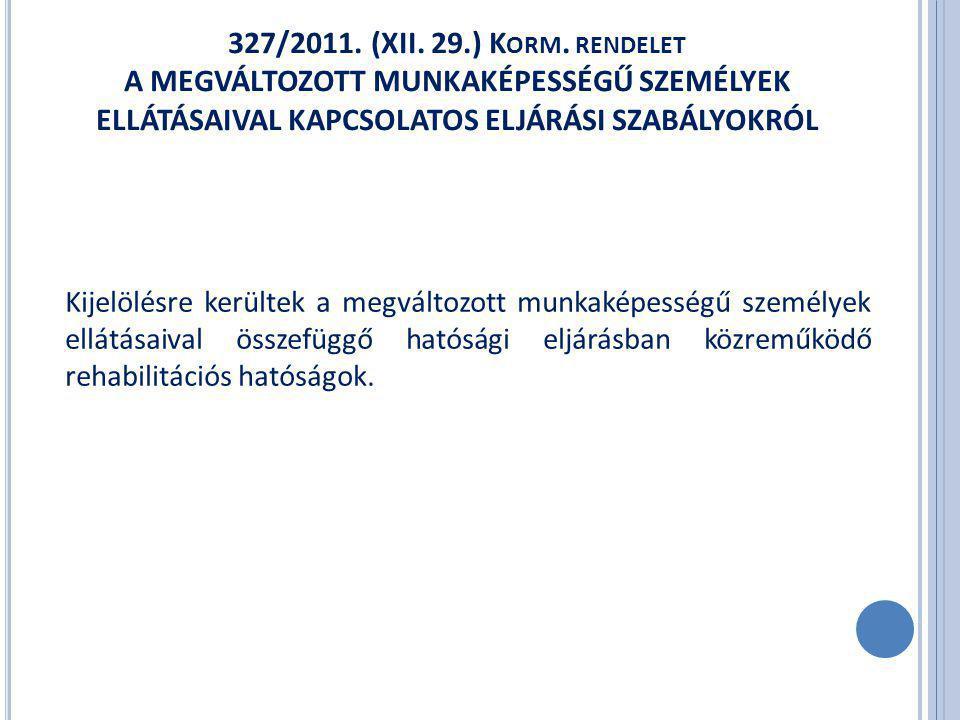 2012.július 1-től 1502/2011. (XII. 29.) Korm.