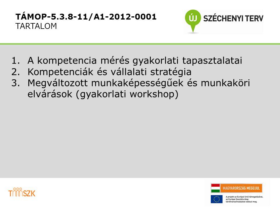 TMSZK NONPROFIT KFT. Kiértékelés részletesen Kompetenciamérés teszt Eredmények - soft kompetenciák