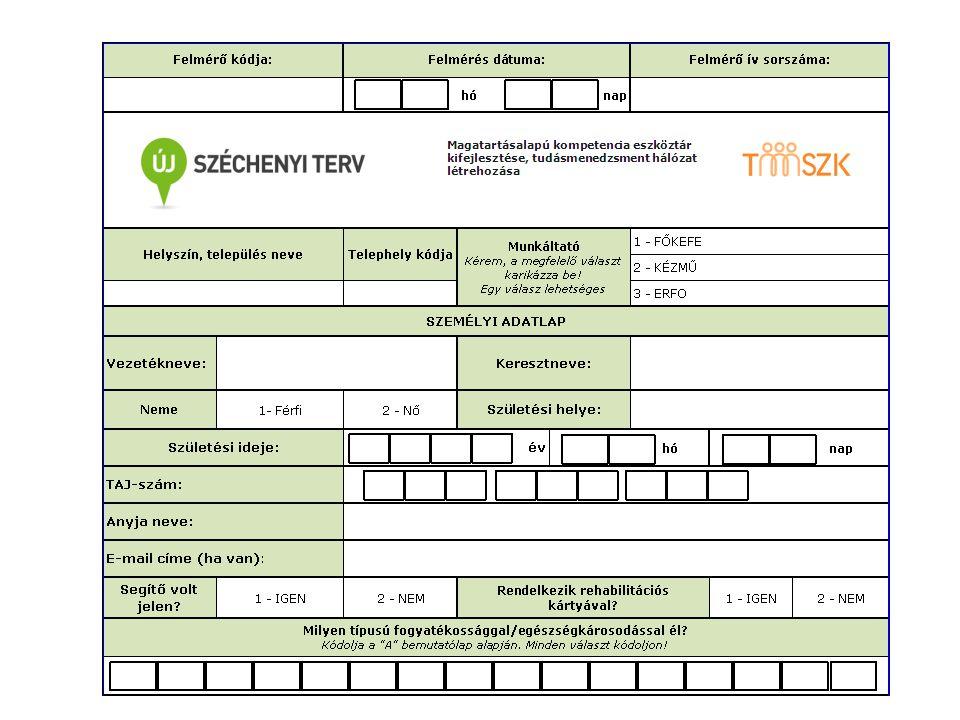 Milyen előnyöket, érveket sorakoztatnának fel a MMK munkavállalók foglalkoztatás mellett, ha egy ilyen vállalat vezetője/HR vezetője kérné a véleményüket (10') TÁMOP-5.3.8-11/A1-2012-0001 FELADAT4.