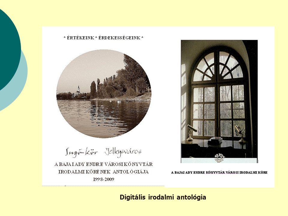 Digitális irodalmi antológia