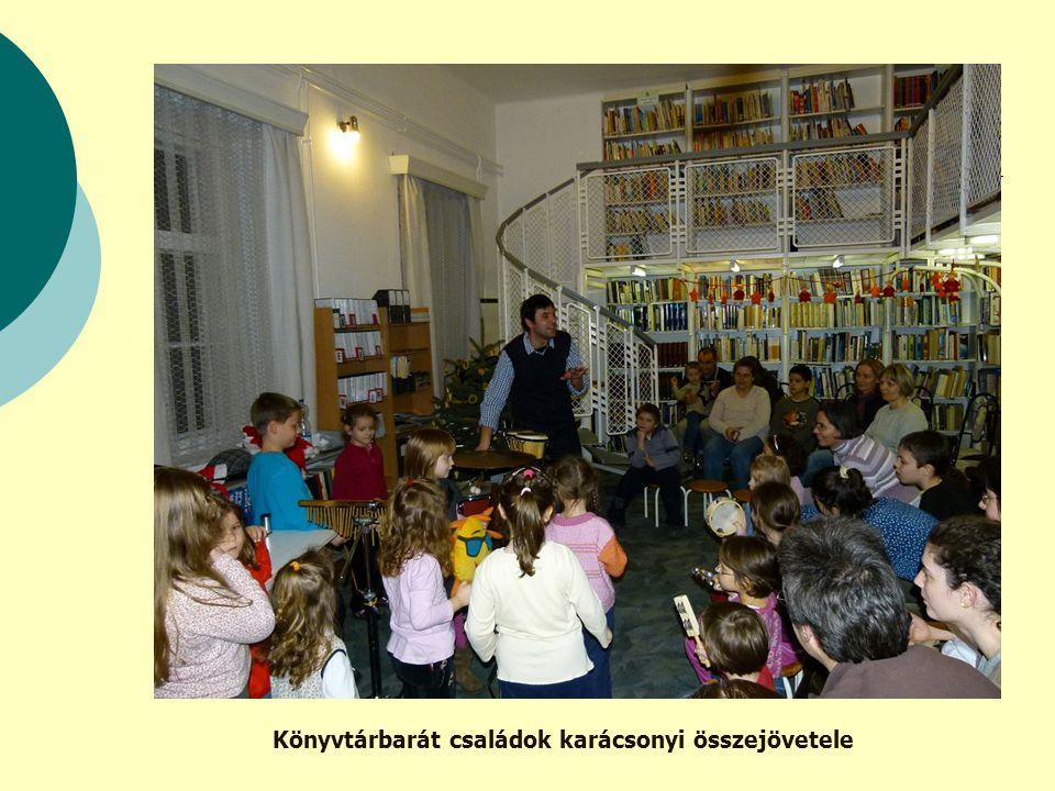 Könyvtárbarát családok karácsonyi összejövetele