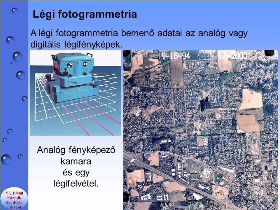 A fényképezés geometriai modellje centrális perspektíva.