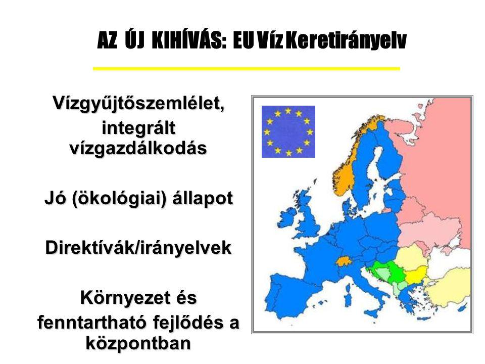 Vízminőségszabályozás az Európai Unió tagállamaiban a Víz Keretirányelv szerint