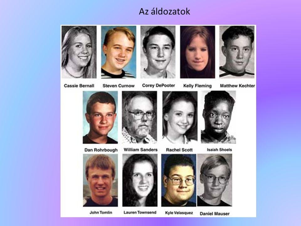 Az áldozatok