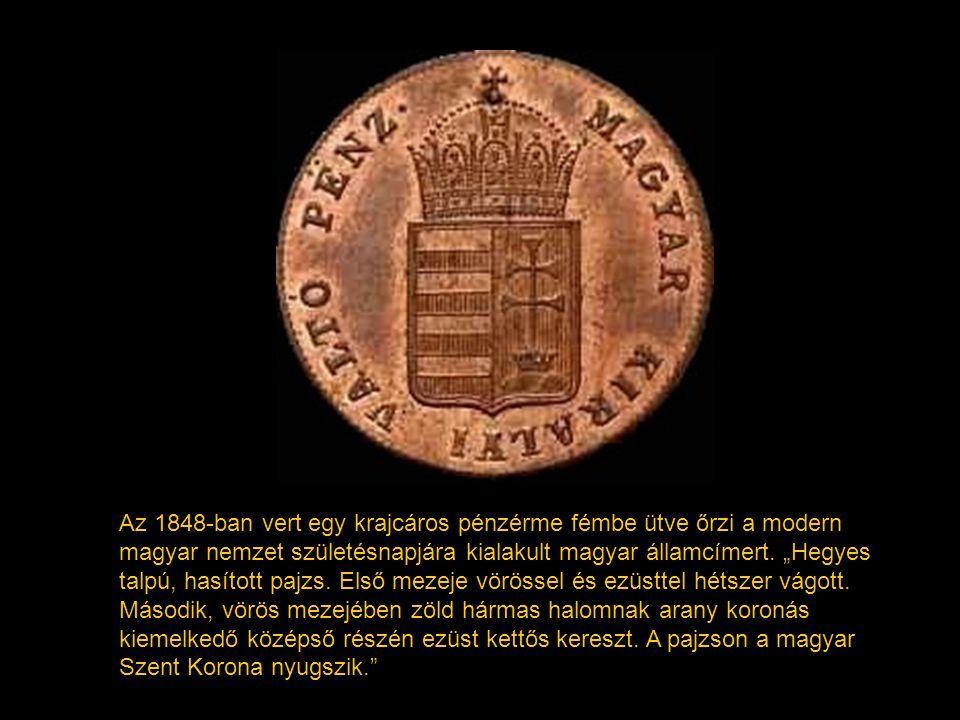 A két pajzsmező eggyé szervezése a 14. század végén kezdődik meg, de csak Habsburg Rudolf császár (1576-1608) idejében véglegesül. A 15. századtól kez