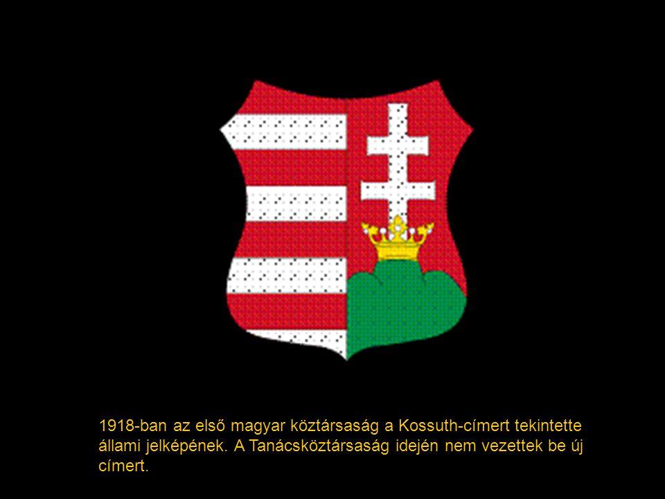 A Monarchia egy másik címerábrázolása 1915-ből.