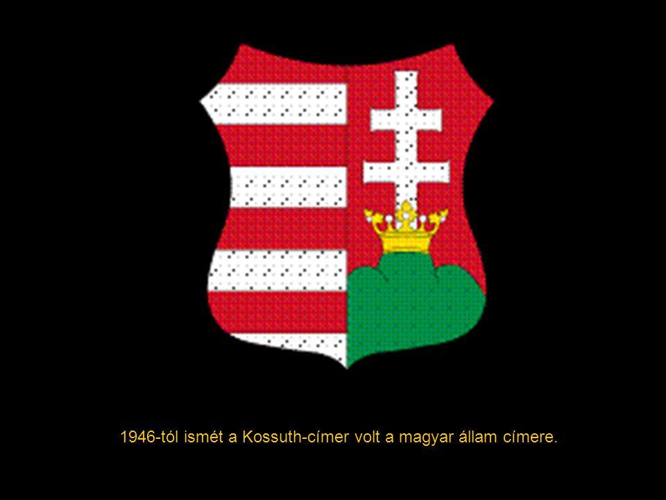 1919 végén a Horthy-féle Magyar Királyság címere a korábbi kiscímer lett, két oldalt a címert tartó angyalokkal kiegészítve. 1938-tól, a visszacsatolá