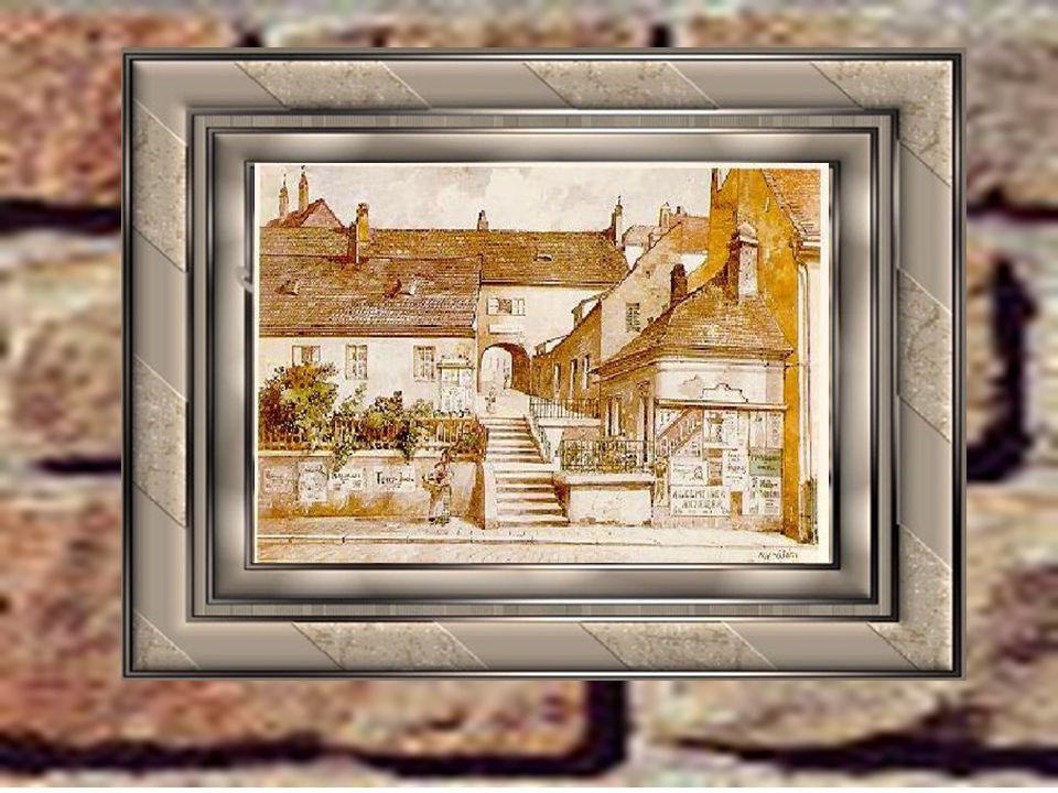 A festmények és rajzok 1916-18 között, az első világháború idején készültek, amikor is a fiatal festő- és mázolósegéd dezertőrként bujkált. A munkák h