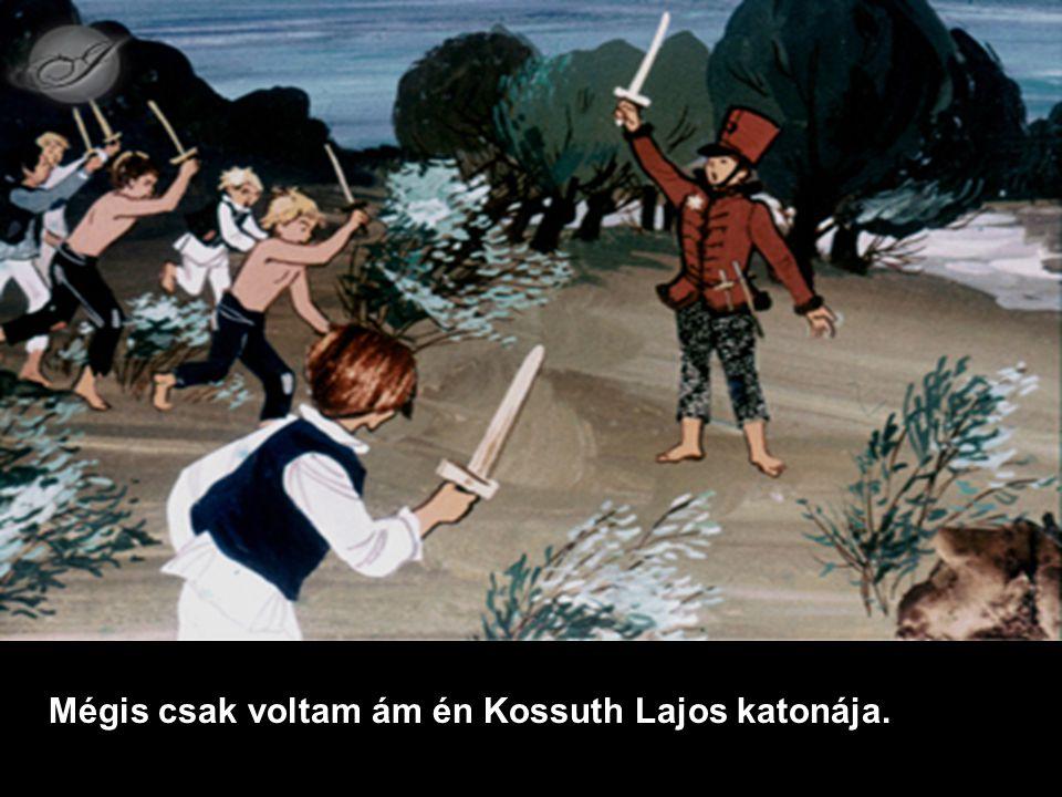 Mégis csak voltam ám én Kossuth Lajos katonája.